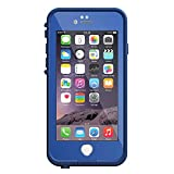 LifeProof FRE iPhone 6 ONLY Waterproof Case (4.7'' Version) - Retail Packaging - SOARING BLUE (LIGHT COBALT/DARK COBALT) (Certified Refurbished)