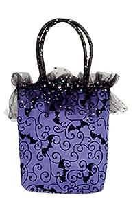 Women's Purple Halloween Handbag () Costume Accessory by Womens
