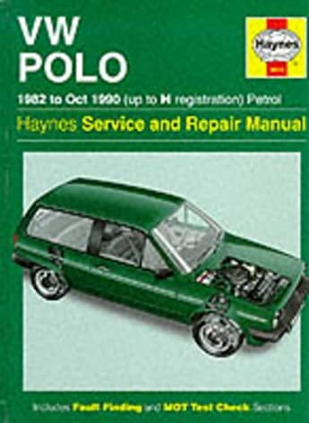 volkswagen polo 1982 90 service and repair manual haynes service rh amazon co uk
