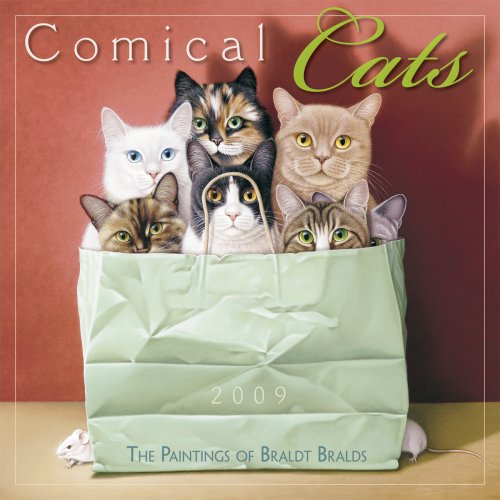 Comical Cats 2009 Wall Calendar (Calendar)