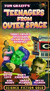 Teenagers from Outer Space [VHS]