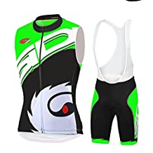 2016 Sidi Team Black Cycling Jerseys Sleeveless Shirts 3D gel pad Ropa Bib Shorts Suit Women's Cycling Clothing Kit