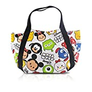 Finex Tsum Tsum Snap Closure Canvas Tote with Carry Handles - Travel Lunch Box Bag Diaper Bag Gym Tote Cosmetic Bags
