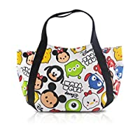 Finex Tsum Tsum Snap Closure Canvas Tote with Carry Handles - Travel Lunch Bo...