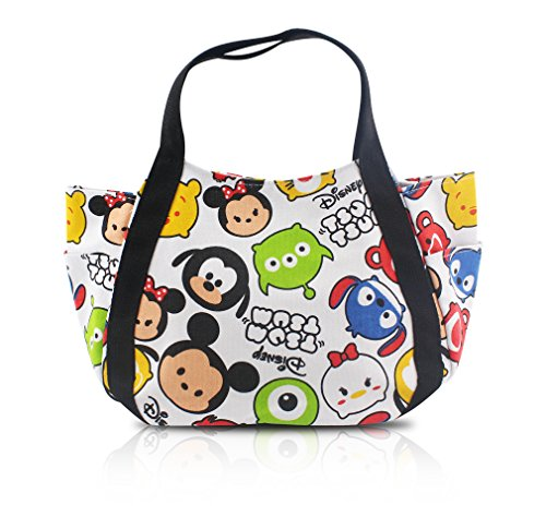 Finex Tsum Tsum Snap Closure Canvas Tote with Carry Handles