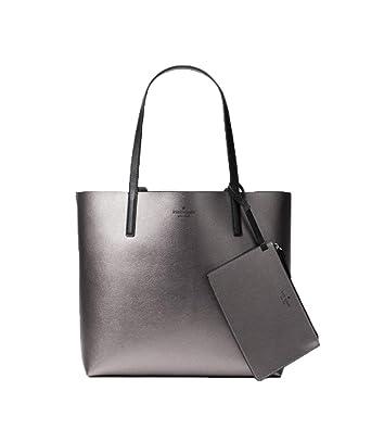 4e0ed8ecfc43d Amazon.com: Kate Spade Women's Black Arch Place Mya Tote Bag Reversible  (Black/Gunmetal): Shoes