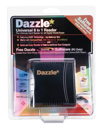 COMPACTFLASH DAZZLE CARD READER DRIVERS FOR MAC DOWNLOAD