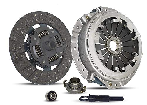 (Clutch Kit Works With Honda Passport Isuzu Amigo Rodeo Trans Trooper (3.2L ALL MODELS) S LS LSE EX LX LTD Sport Utility 4-Door 2-Door 2.2L l4 2.6L l4 3.2L V6 GAS DOHC Naturally Aspirated)