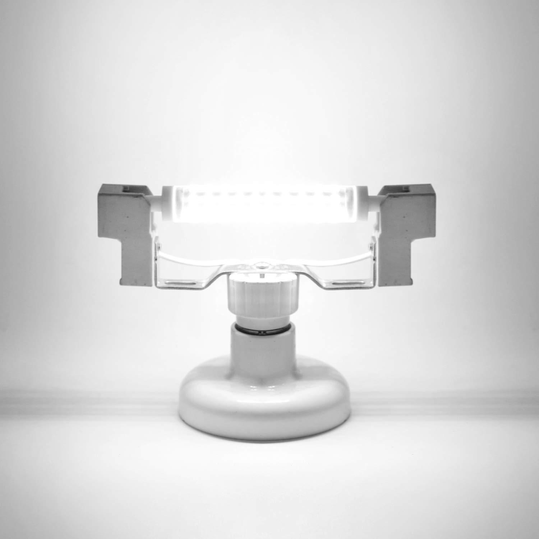 230V AC entspricht 30W 48W 60W Halogenlampe 2er Pack 360 Grad Warmwei/ß 3000K 5 Watt Azhien R7S LED 5W 78mm Nicht Dimmbar 500LM Doppelende Lineare Reflektorlampe