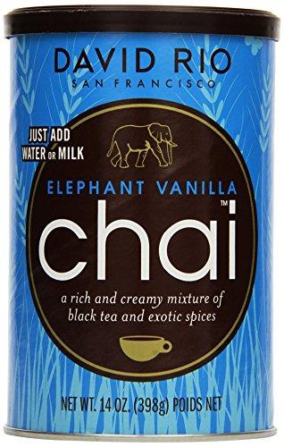 David Rio Consumer - Elephant Vanilla Chai, 1er Pack (1 x 398 g)