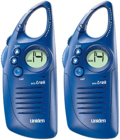 Uniden Eco Trek FRS-400 2-Way Radios Pair
