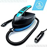 Bluefin Electric SUP Air Pump | Inflatable Paddle Board | 12V DC | PSI/BAR | Portable | High Pressure | Compressor | Fast Inflation | Auto Shut Off | LCD Digital Control & Display