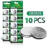 LiCB CR2025 3V Lithium Battery(10-Pack)