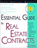 Essential Guide to Real Estate Contracts, Mark Warda, 1572481595