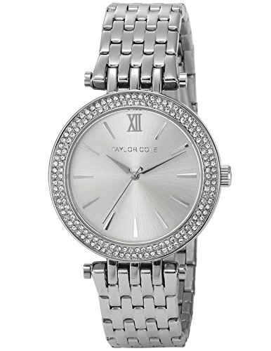 Taylor Cole Aglaia Ladies' Elegant Silver Stainless Steel Band Simple Quartz Watch TC003