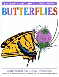 Peterson Field Guide Coloring Books Butterflies Peterson Field Guide ColorIn Books