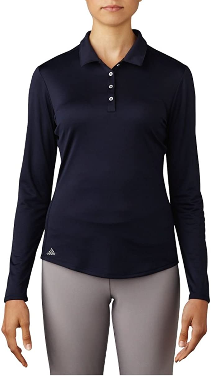adidas Golf Women's Performance Long Sleeve Polo T-Shirt