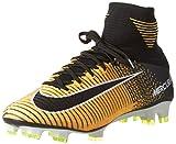 Nike Men's Mercurial Superfly FG Soccer Cleat (Sz. 9.5) Laser Orange, Black