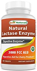 Best Naturals Fast Acting Lactase Enzyme...