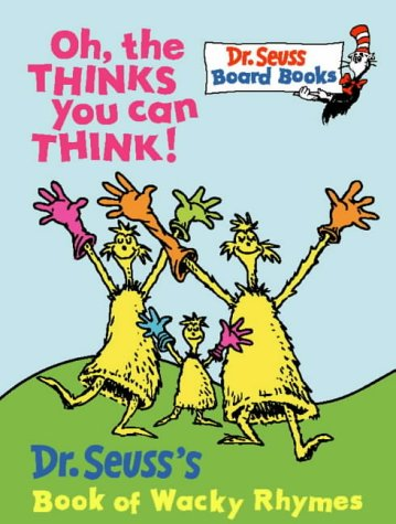 Download Oh, the Thinks You Can Think! (Dr.Seuss Board Books) PDF