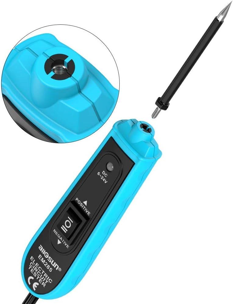 VXSCAN EM285 Automotive Electric Circuit Tester Car Electrical System Tester 6-24V DC