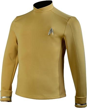Cosplaysky Star Trek disfraz más allá de Sulu Kirk Comandante ...
