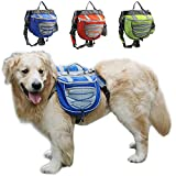 FengTu Camping Hiking Dog Packs Backpacks Adjustable...