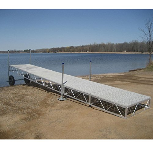 Patriot Docks (AMRP10536 * (40Ft) Patriot Docks Straight Roll-In Dock With Poly Deck)