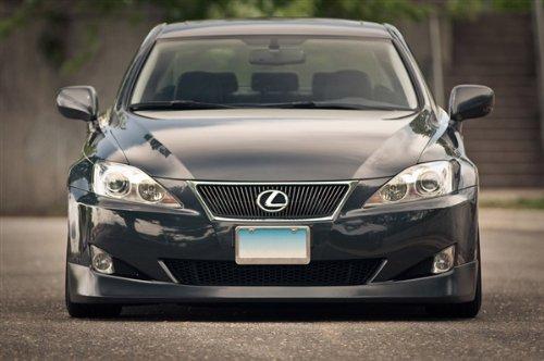 Lexus Is Grey Front on Ssr Wheels Hd Poster Print