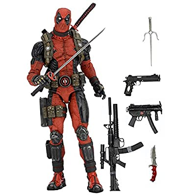 NECA Marvel Classics Deadpool 1/4 Scale Action Figure: Toys & Games