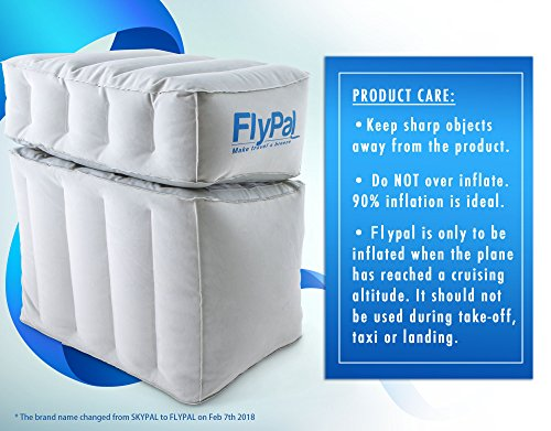 Flypal Comfortable Inflatable Foot Amp Leg Rest For Car