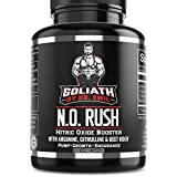 Goliath by Dr. Emil N.O. Rush Nitric Oxide Supplement with L Arginine, L Citrulline Malate & Beet Root - for Muscle Growth, Vascularity & Endurance