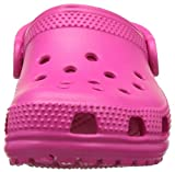 Crocs Kids' Classic Clog, Candy Pink, 7 M US Toddler