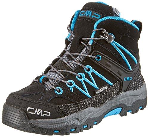 C.P.M. Rigel - Zapatos Unisex Niños Negro (Nero)