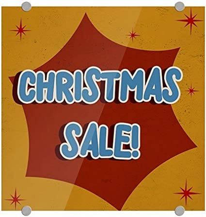 cgsignlab christmas sale nostalgia burst premium brushed aluminum sign 5 - Amazon Christmas Sale