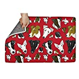 CHOOLD Pet Christmas Dog Terrier Pet Puppy Door Mat Inside Floor Easy Clean 23.5″x15.5″ Review