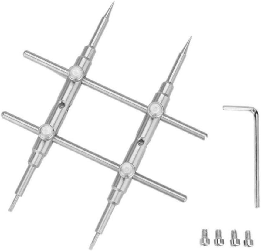 LJLC Llave Abierta Juego de Herramientas Astronom/ía Microscopio Reparaci/ón de Lentes Llave Desmontar Accesorios de Estudio fotogr/áfico