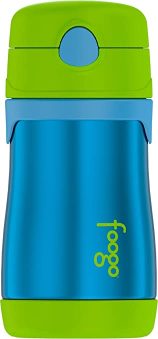 Pink//Purpl Thermos Foogo Vacuum Insulated Stainless Steel 10-Ounce Straw Bottle