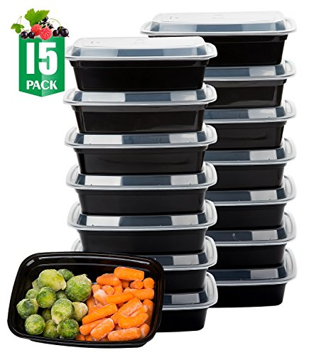 Meal Prep Containers Lunch Box Container with Lids Healthy Food Storage Containers 15 Pack Lunch Boxes