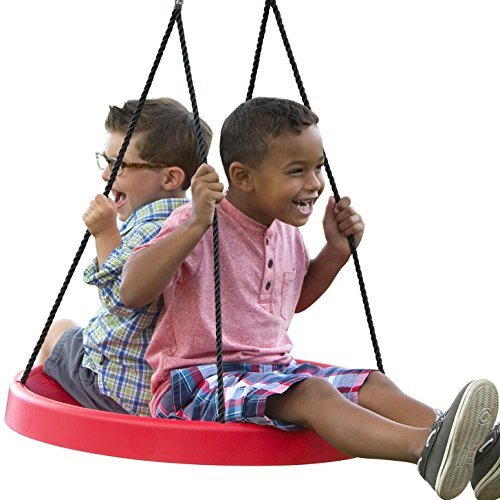 Super Spinner PlayMonster Swing - Fun, Easy to Install on Swing Set Or Tree, 27