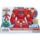 Playskool Heroes – Marvel Super Hero Adventure – Armure Stark Tech + 2 Mini Figurines