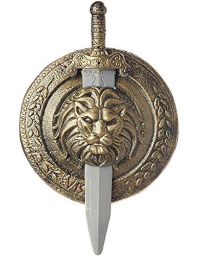 Gladiator Combat Shield & Sword ()