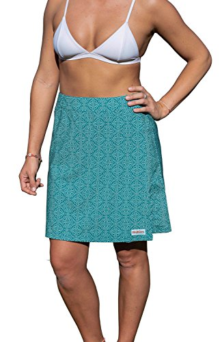 Travel Womens Skirt - RipSkirt Hawaii Length 2 - Quick Wrap Cover-up That Multitasks as The Perfect Travel/Summer Skirt