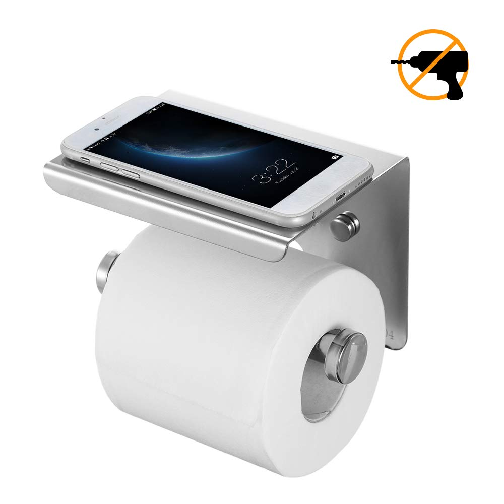 Porta Carta Igienica Porta Salviette in Acciaio Inox 304 Bagno in Cucina Camera da Letto Ristorante Facile Installazione di Esonmus