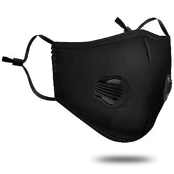 Máscara de la Contaminación con Máscara de Boca Lavable con Algodón y Respirador de Válvula con