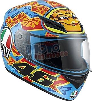AGV K3 Rossi Mugello 2001 - Casco de moto, modelo de 2015 XXL