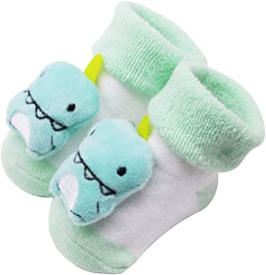 MAYOGO Calcetines para bebés Calcetines Antideslizantes de Algodón ...