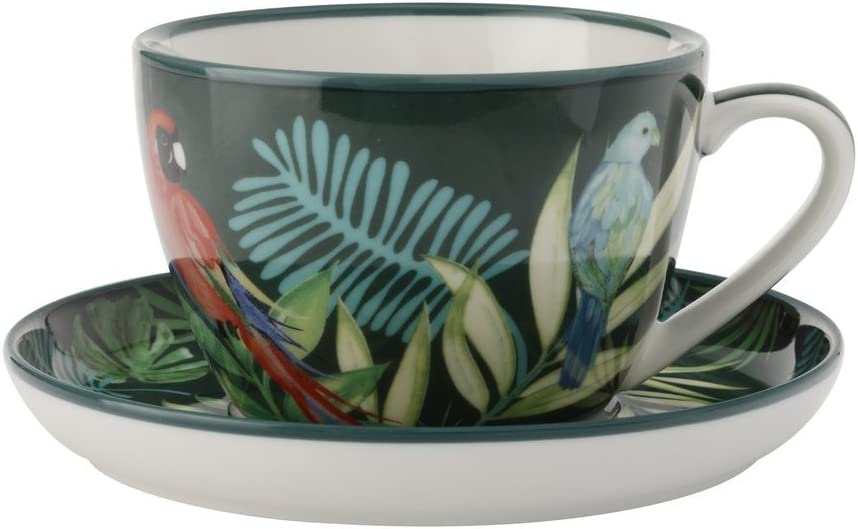 CHRISTOPHER Vine Tropical Nights Taza TE con platillo Linea ...
