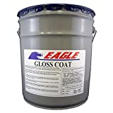 Eagle Sealer EGCC5 Clear Gloss Coat, 5 gal Pail,(State Sales Restrictions)