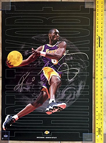 28b3a661b530 KOBE BRYANT SIGNED AUTOGRAPHED ORIGINAL 23x35 COSTACOS POSTER LAKERS  PSA DNA at Amazon s Sports Collectibles Store